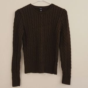Gap stretch cable knit sweater